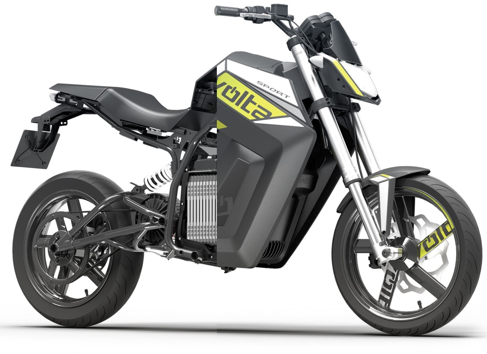 Volta Sport SUpermotard electrica zero motorcycles
