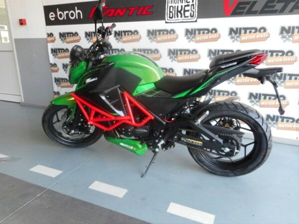 Ebroh Bravo moto electrica ciclomotor bateria NQi UQi  MQi  MQi+ pusa puma niu ecomobility green world nuuk silence