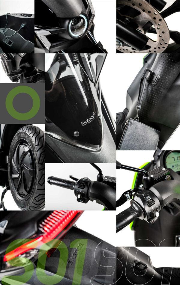 Silence S01 moto electrica ciclomotor bateria NQi UQi  MQi  MQi+ pusa puma niu ecomobility green world nuuk silence