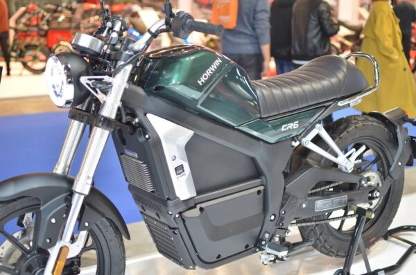 Horwin CR6 moto electrica ciclomotor bateria NQi UQi  MQi  MQi+ pusa puma niu ecomobility green world nuuk silence