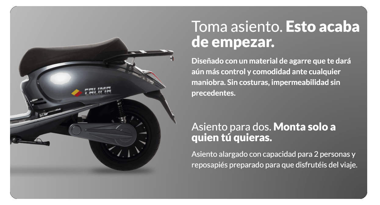 Scooter electrico ecomobility green world puma pusa lipo