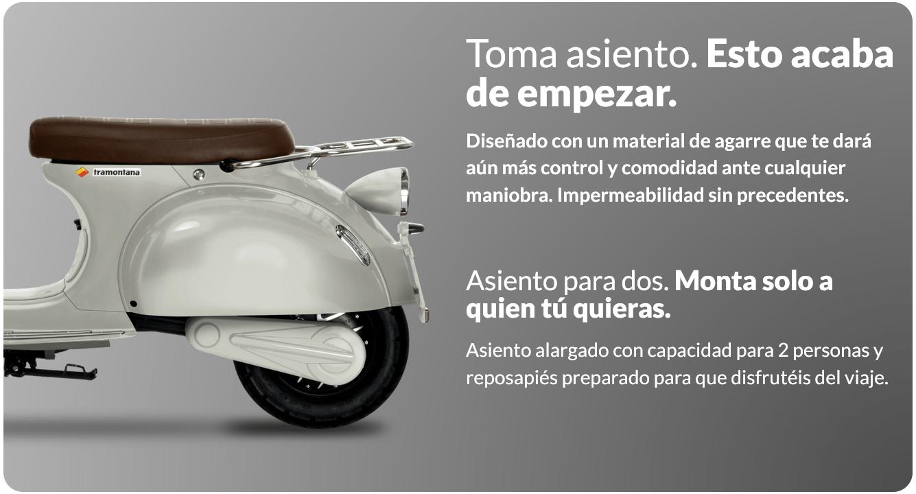 NQi GT · UQi GT · MQi GT · MQi+ moto electrica