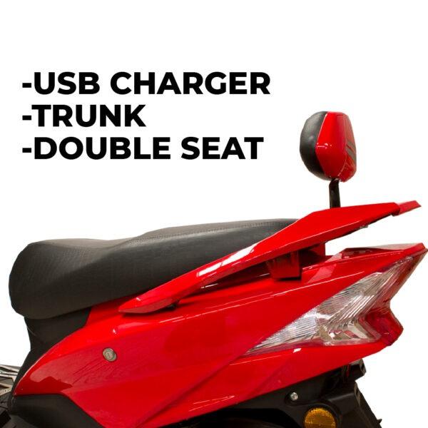 SUNRA Hawk moto electrica ciclomotor bateria NQi UQi  MQi  MQi+ pusa puma niu ecomobility green world nuuk silence