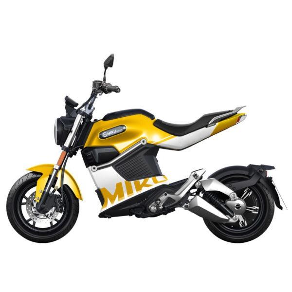SUNRA Miku Super moto electrica ciclomotor bateria NQi UQi  MQi  MQi+ pusa puma niu ecomobility green world nuuk silence