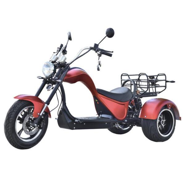 CityCoco Cobra S3 – Tres Ruedas moto electrica ciclomotor bateria NQi UQi  MQi  MQi+ pusa puma niu ecomobility green world nuuk silence